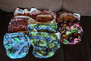 Kawaii baby cloth diapers