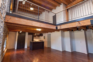 Luxury 2 Level Loft In Old Montreal For Rent