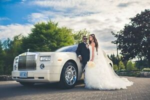 GTAs Newest White Rolls Royce Phantom Limo Limousine Wedding City of Toronto Toronto (GTA) image 2