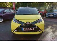 2016 Toyota AYGO VVT-I X-CITE 3 X-SHIFT Automatic Hatchback Petrol Automatic