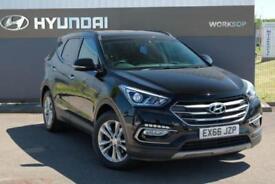 2016 Hyundai 2.2 CRDi (200ps) 4WD Premium Blue Drive (5 Seats) Diesel black