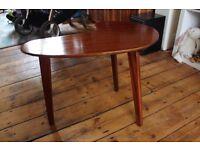 Vintage kidney shaped side table