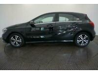 2017 BLACK MERCEDES A160 1.6 SE PETROL MANUAL CAR FINANCE FR £217 PCM