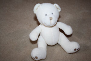Small Stuffed Teddy Bear Baby Rattle