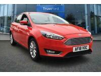 2018 Ford Focus 1.0 EcoBoost Titanium 5dr with Satellite Navigation and Rear Par