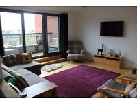 Festival let £980/week. Beautiful modern flat with balcony and secure garage