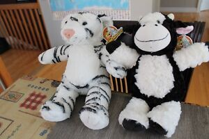 NEW TEDDY MOUNTAIN TEDDY COW AND WHITE TIGER