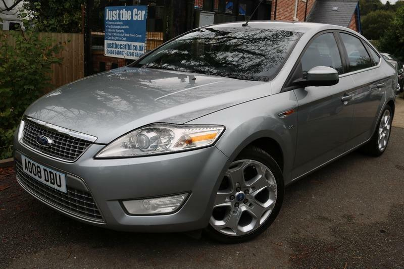 2008 Ford Mondeo 2.0 TITANIUM X Silver 5 Door FSH Long MOT Finance Available