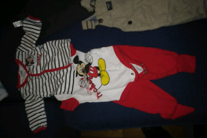 Disney mickey mouse matching suit