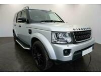 2015 SILVER LAND ROVER DISCOVERY 4 3.0 SDV6 HSE AUTO CAR FINANCE FR £354 PCM
