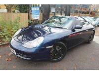 Porsche 911 3.4 Manual 996 Blue FSH Hard Top Roof Included Convertible Finance A