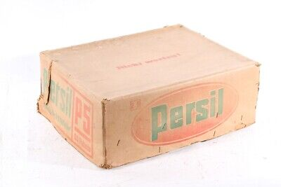 Antiguo Cartón Persil Caja Detergente Embalaje Original de
