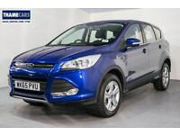 2015 Ford Kuga 2.0 TDCi 150ps 2wd Zetec With Heated Front Screen, Bluetooth And
