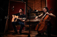 Vocal/Guitar & Cello Duo for your Private Event!