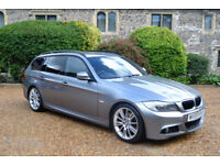 BMW 320 2.0TD 2009 d M Sport Touring, S/HISTORY, NEW MOT, 2 OWNER