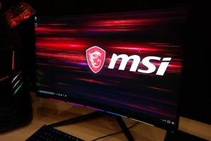 """27"""" Curved MSI Gaming Monitor (Unopened)"""