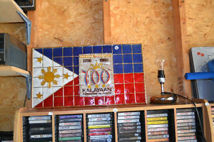 SIGN / WALL HANGER Celebrating 100 years PHILIPPINES 1898 - 1998