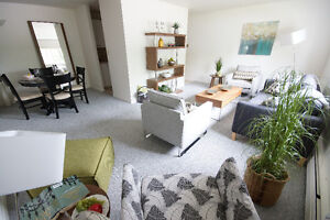 Available Feb 1 - Spacious downtown living in a secure building