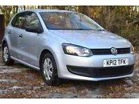 2012 VOLKSWAGEN POLO 1.2 70 S 5dr [AC]