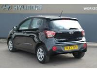 2017 Hyundai i10 1.0 SE Petrol black Manual