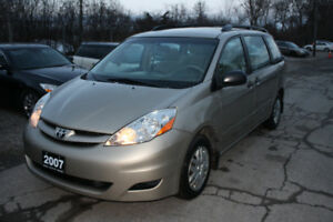 2007 Toyota Sienna CE | Safetied | Brand New Tires | Local Trade