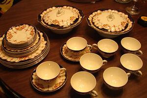 Vintage China Myott Rosemary