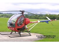 Helicopter Shares Available and Flight Training