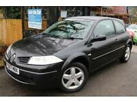 Renault Megane 1.5 DCI Black 3 Door FSH Cambelt Changed Low Tax Finance Availabl
