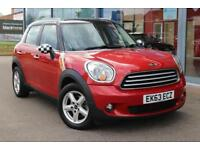 2013 MINI COUNTRYMAN 2.0 Cooper D Auto BTOOTH, 16andquot; ALLOYS and P SENSORS