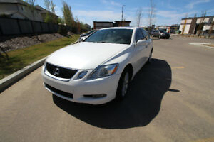 2006 Lexus GS300 4DR AWD - Crystal White, Leather, Heated Seats