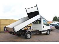 2011 IVECO DAILY 35S11 MWB SINGLE CAB 11FT 6IN ALLOY TIPPER TIPPER DIESEL