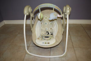 Portable Baby Swing Seat and Bouncer Rocker
