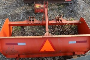 """84"""" Rear Box Blade for 3 Point Hitch of Tractor"""
