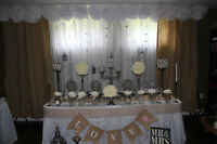 wedding Backdrop and Headtable Decor
