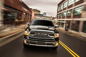 New RAM 1500 Limited chrome grille with RAM letters