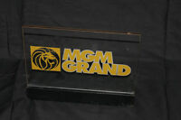 Bar Sign LED MGM LION Beer Light Moving Table Mancave Lamp