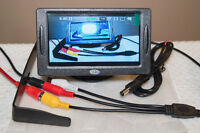 "Car 4.3"" TFT LCD Color Rearview Monitor for DVD GPS Reverse Cam"