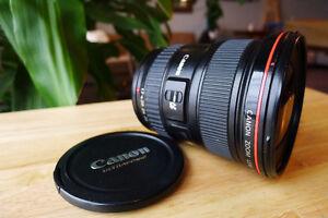 Canon EF  17-40mm  1:4 USM  L series lens