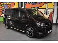 2016 VW TRANPORTER T6 SWB 2.0TDI 140PS DSG KOMBI H/LINE SPORTLINE PK BLACKBERRY
