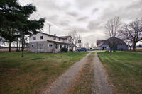 Country Farm House with Barn and Shop $259,900