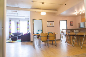 1 bedroom sublet in 5 bedrooms apartment from mid-May to mid-Aug