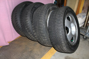 Brand New Tires & Rims, 235/60/17, Bridgestone-Blizzak, WS80