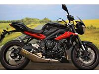 Triumph Street Triple R **Arrow Exhaust, ABS, Datatag**
