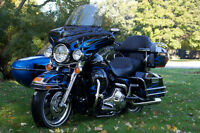 Limited Edition Harley Davidson Ultra Classic with sidecar
