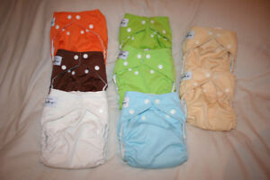Fuzzibunz Medium Cloth Diapers Gender Neutral
