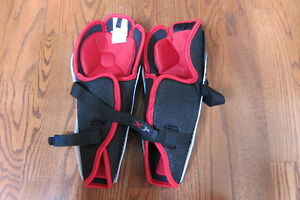 "hockey shin guards - Bauer X30 Jr Large 12"" Cambridge Kitchener Area image 3"