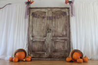 Fall Wedding Decoration Rental ~ P2 Weddings