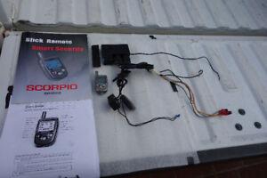 Scorpio Motorcycle Alarm Security System
