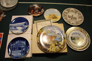 Plate collection various Cambridge Kitchener Area image 1