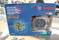 Bosch GLL 3-50 S three line laser with layout beam Winnipeg Manitoba Preview